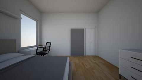 my room design - Bedroom  - by Isla G