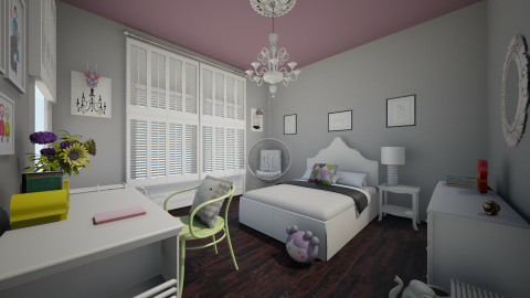 g - Eclectic - Kids room  - by nataliaMSG