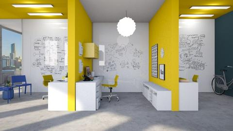 Yellow Office - by smunro7