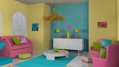 jelly beans - Retro - Living room - by trees designs