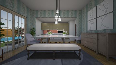 RWE - Dining room - by Jacqueline De la Guia