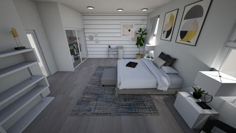 Room - Minimal - Bedroom  - by matullosr