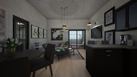 futon studio - by allday08