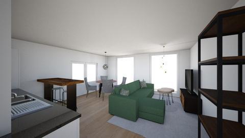 Omega 2 light - Living room  - by Roosstyler