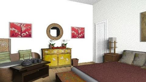Guest Bedroom 2 - Feminine - Bedroom - by sumz78