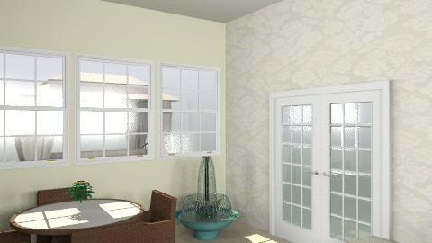 Unfinished sunroom - Classic - Garden  - by may2june