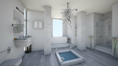 ghytuhg - Modern - Bathroom  - by Sophia Cooper
