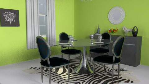 Jonathan Adler Inspiration - Dining Room  - by jnabers