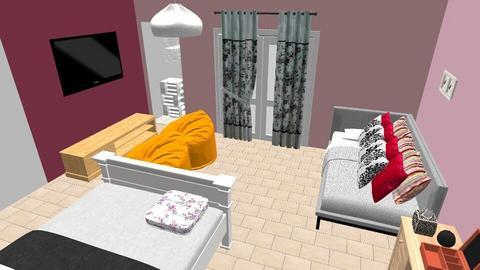 mi cuarto - by malala96