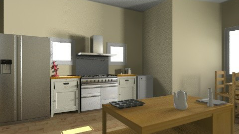 My Future Kitchen - Country - Kitchen  - by troublemaker100