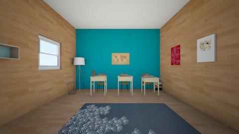 Homework Room - Minimal - by WILDFL0WERS_