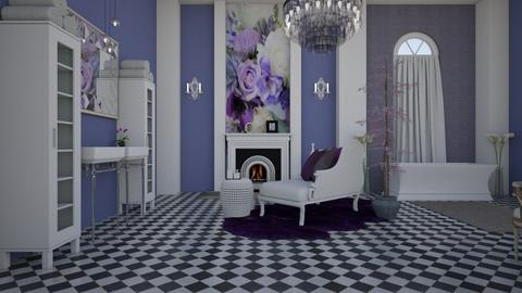 Lilac L - Feminine - Bathroom  - by decordiva1