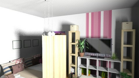 nappalihalo_lila_panel - Minimal - Bedroom - by suliadri