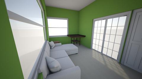 Sunroom - Modern - Living room  - by msrosenberg