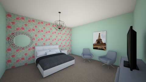 Teen Bedroom - Bedroom  - by Bethany Claire Pham