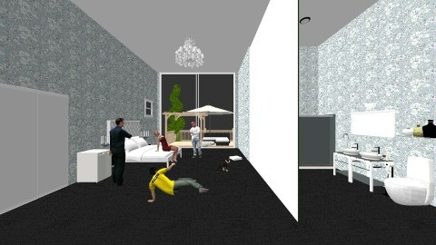 master bedroom - Glamour - Bedroom - by harry122