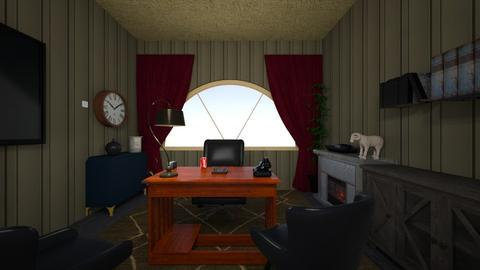 my office - Retro - Office  - by chloupid