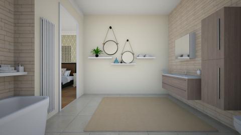 On_Suite - Modern - Bathroom  - by janip