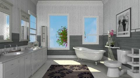 pretty - Classic - Bathroom  - by sarahl