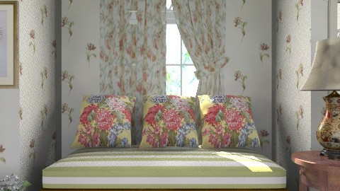 Floral_3 - Classic - Living room  - by milyca8