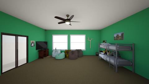 My Bedroom - Classic - Bedroom - by scudd