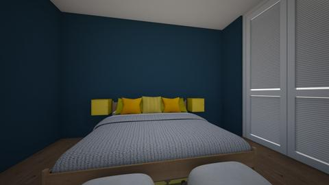 Trendy Master Bedroom - Minimal - by PHBNINI