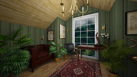 Stormy day Livingroom - Living room  - by rungsimas