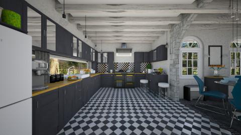 M_Big K - Kitchen  - by milyca8