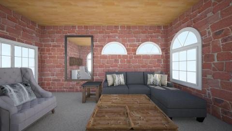 Vintage Retro Living Room - Vintage - Living room  - by ra101