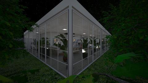 Eclectic_night2 - Garden  - by lovasemoke