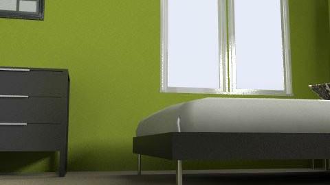 bedroom3 - Modern - Bedroom - by ashley_d