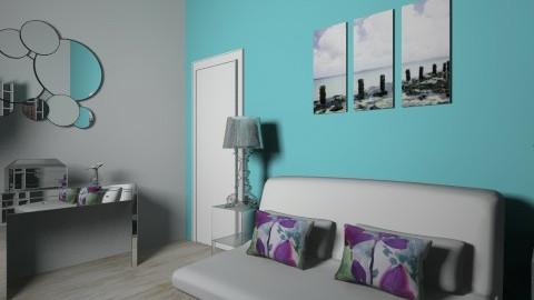 Friends Bedroom style 2 - Glamour - Bedroom  - by ALIBOSS