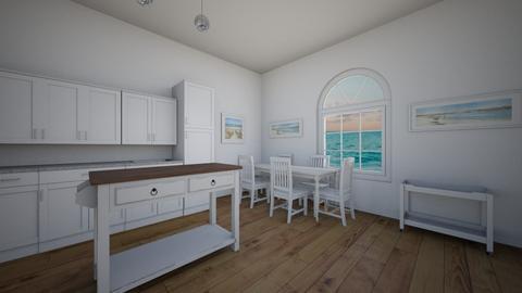 Kitchen by the beach - Kitchen  - by SadieRose