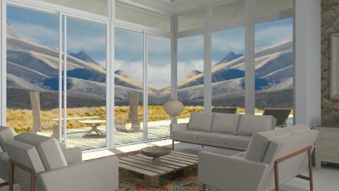 Utah Desert - Modern - Living room  - by liling
