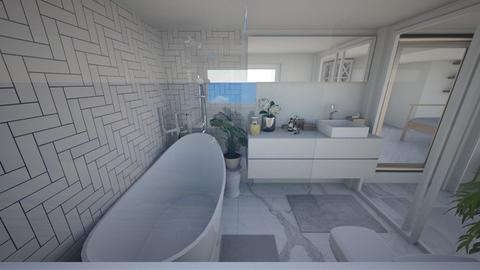 BATH WITH SKY VIEW 1 - Bathroom - by Tiny_Bubbles