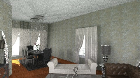 Annette LiveDineGlam - Glamour - Living room - by pdsmatt