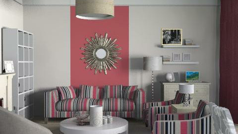 stripes - Classic - Living room  - by ovchicha