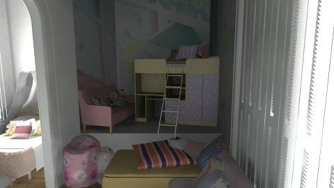 Sweet girls room - Kids room  - by KarolinaZ