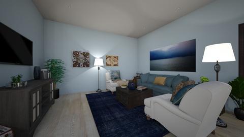 Rustic - Living room  - by RettaLynn