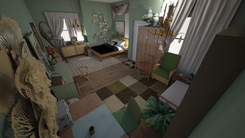 Avacado - Bedroom  - by annndrea