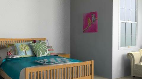 Island - Rustic - Bedroom  - by Ukulele