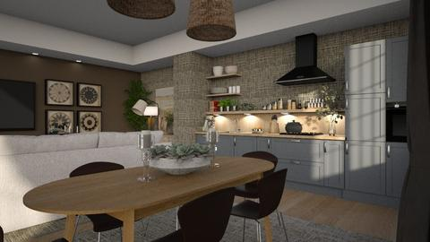 Consequence - Modern - Kitchen  - by Claudia Correia