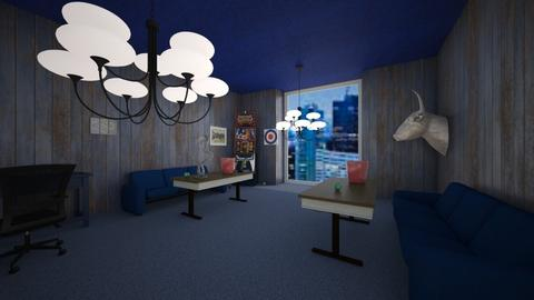 Blue Lawyers Office - Glamour - Office  - by TheRokuy_YT