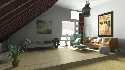 c - Living room - by elenathoni