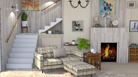 Living in cozy conner - Living room  - by Siti Idrus