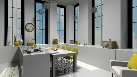 Child Free - Modern - Kitchen  - by camilla_saurus