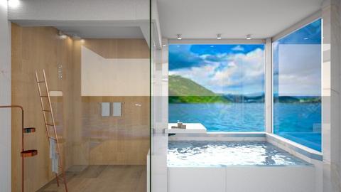 beach bath - Bathroom  - by nihalruttala