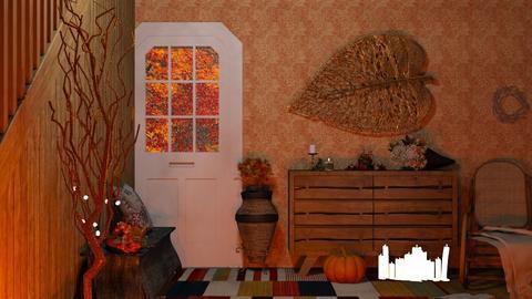 Autumn Hallway_II - by Aranduriel