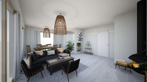 4 - Minimal - Living room - by Lenamider
