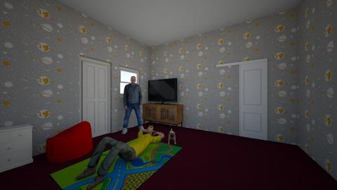 tybbbghhgggggh - Kids room  - by RobertWood